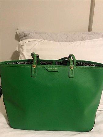 Henry bendel - Bolsa em couro verde