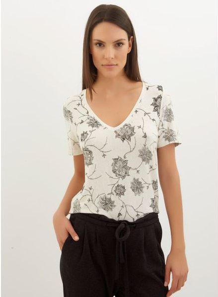 Le Lis Blanc -  Floral top