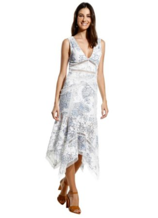 Le Lis Blanc - Vestido lily print longo