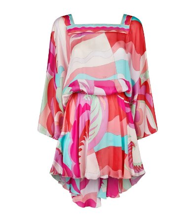 Emilio Pucci - Open Back Mini Dress