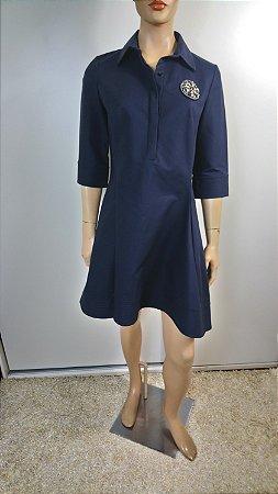 Christian Dior -  Vestido preto com bordado