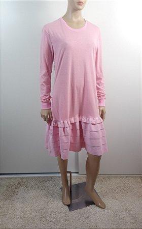 Angelles - Vestido em malha de algodão