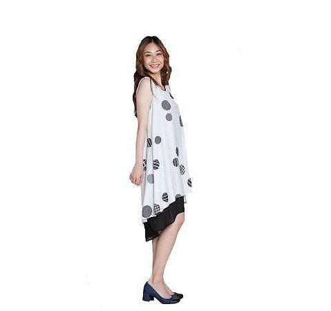 Patrizia Luca Milano -  Vestido em camadas