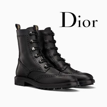 Dior - Bota em couro