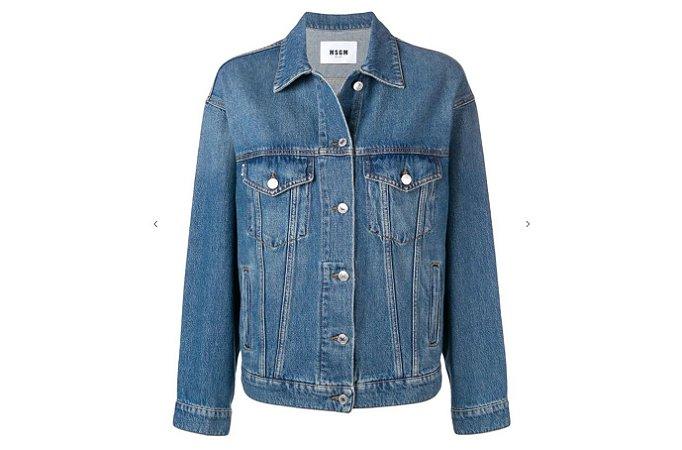 MSGM - Jaqueta jeans