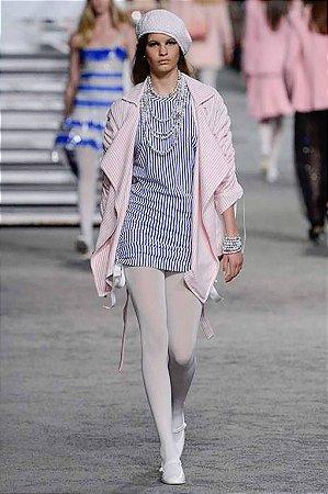 Chanel - Vestido listras coleção Cruise/19