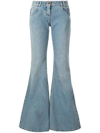 BALMAIN -  low-rise flared jeans (nova coleção)