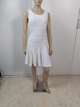 Double Zero - Vestido off white
