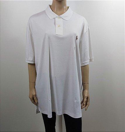 Polo Rauph Laurent - Camiseta Polo Pima Cotton (MASCULINO XXL)