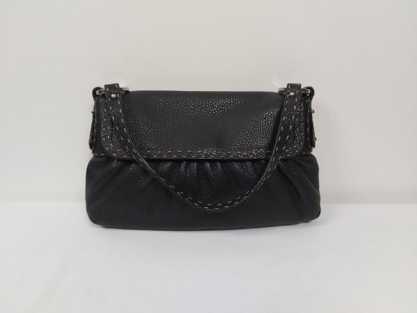 Fendi - Vintage Lather black Bag