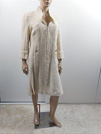 Chanel -   Vestido Tweed