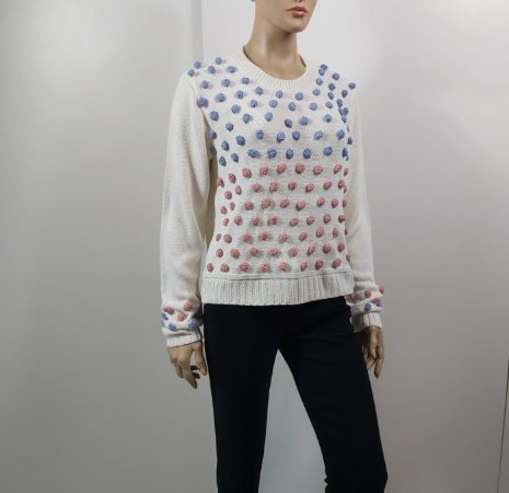 Iorane  - Blusa trico bolinhas coloridas