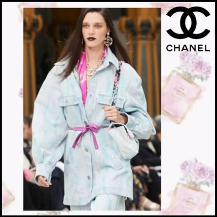 Chanel  - Jaqueta jeans / Cruise 2020