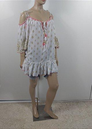 Hippy Chic - Bata ampla em viscose