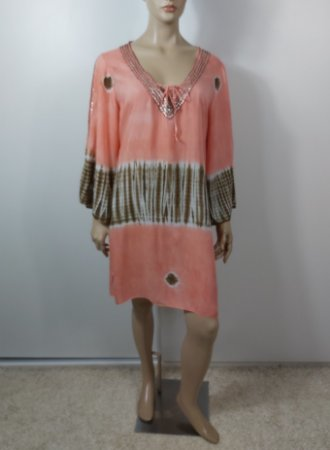 Hippy Chic - Vestido curto viscose