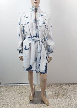Christian Dior - vestido tie die jeans