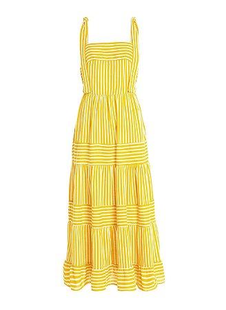 Le Lis Blanc - Vestido listras amarelo (nova coleção)