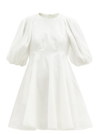 Zimmermann - Vestido curto linho