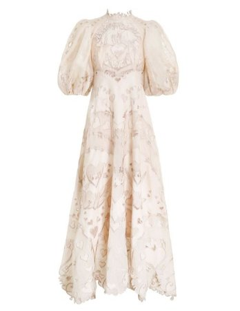Zimmermann - The Lovestruck Gown  - resort 2021