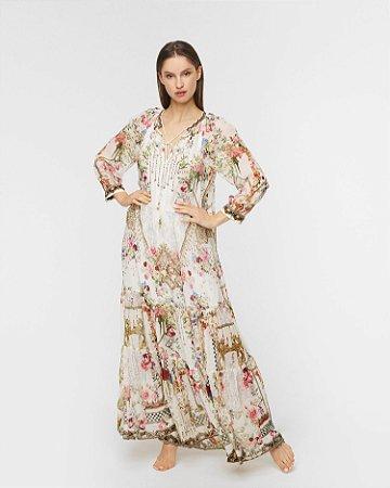 Camilla - Vestido floral em seda / 2021