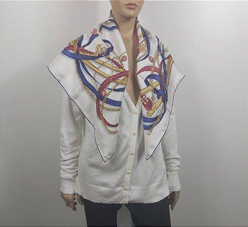 Gucci - Lenço em seda
