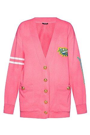 Balmain -  Maxi Cardigan Pink