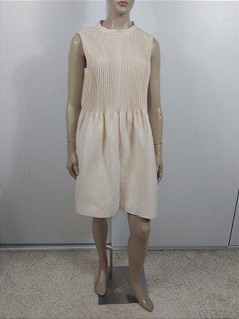 00Valentino  Garavani - Vestido curto em crepe