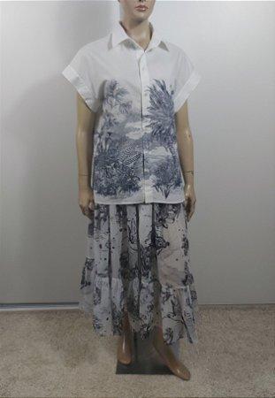Christian Dior - Camisa Estampa algodão