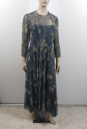 Christian Dior - Long tule floral dress