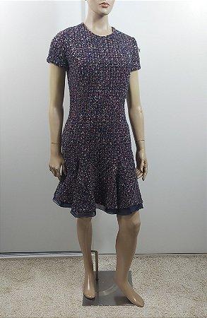 Christian Dior - Vestido curto tweed
