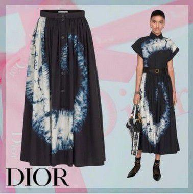 Christian Dior - Saia longa Tie Die-  Fall / Winter 2020