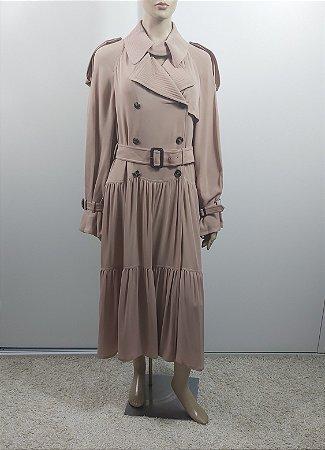 Valentino - Vestido longo seda