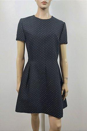 Christian Dior - Vestido em la bolinhas
