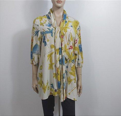 Salvatore Ferragamo - Camisa Seda