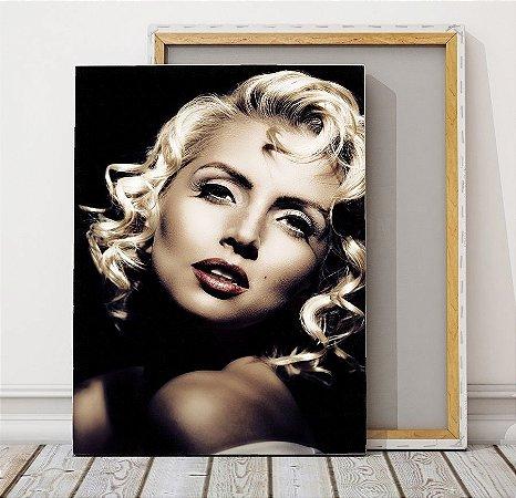 Quadros Marilyn Monroe vi 70 X 100 cm Quadro em tecido canvas o ...
