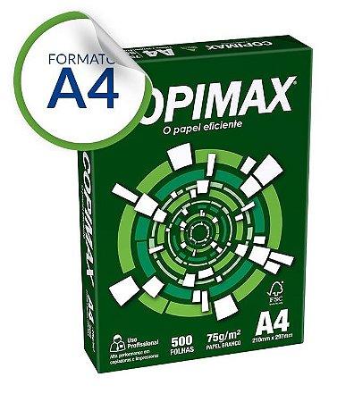 PAPEL A4 75G 210X297 C/500FLS COPIMAX BC