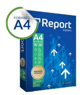 PAPEL A4 75G 210X297 C/500FLS REPORT BCO