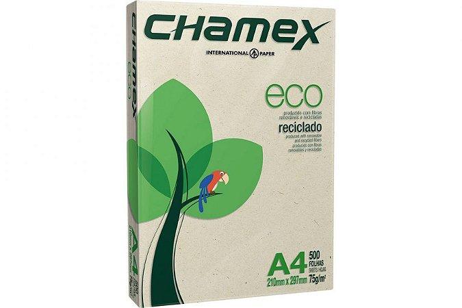 PAPEL A4 75G 210X297 10X500FL CHAMEX ECO