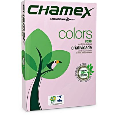 PAPEL A4 75G 210X297 C/500FLS CHAMEX ROS