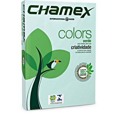 PAPEL A4 75G 210X297 C/500FLS CHAMEX VRD