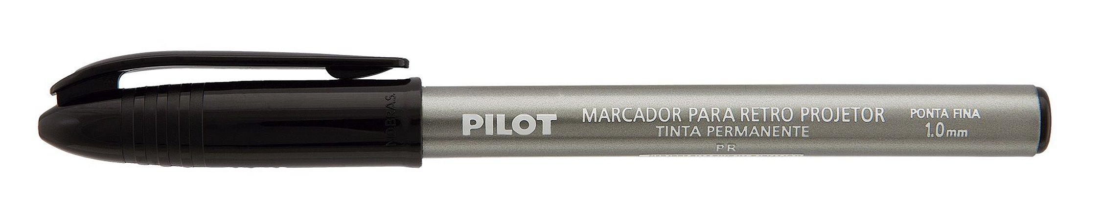 CANETA RETROPROJETOR PILOT 1MM PT C/01