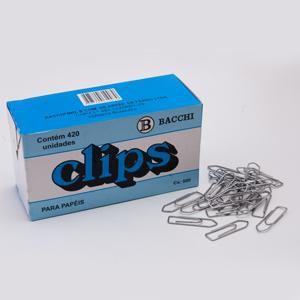 CLIPS 3/0 GALVANIZADO C/500GRS BACCHI