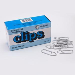 CLIPS 8/0 GALVANIZADO C/500GRS BACCHI