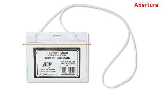 CRACHA C/CORDAO SILICONE 80X120 C/100