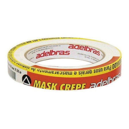 FITA CREPE 18X50 ADELBRAS C/01
