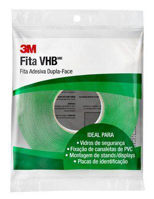 FITA DUPLA FACE VHB FIXA FORTE 12X20M 3M