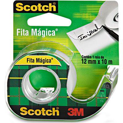FITA MAGICA 12X10MT C/APARELHO 3M