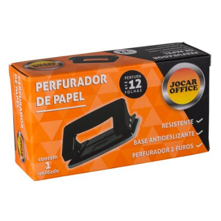 PERFURADOR MEDIO 2 FUROS P/12FLS