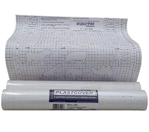 PLASTICO AUTO-ADESIVO 45CMX25M CR PLAVITEC