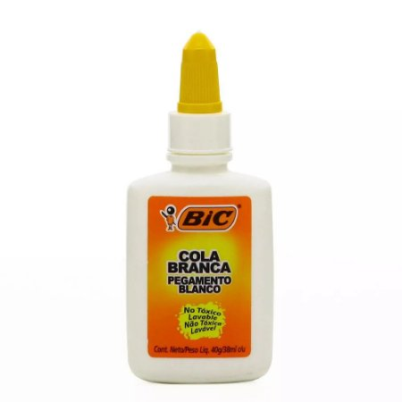COLA BRANCA C/40GRS BIC